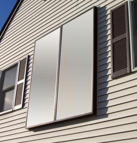 Solar Hot Air Collector - greenbuildingadivor.com